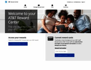 rewardcenter.att.com screenshot