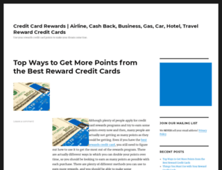 rewardcreditcardsite.com screenshot