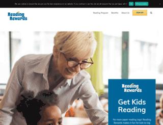 rewardreading.com screenshot