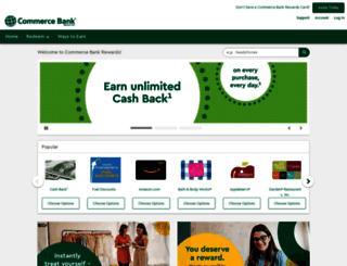 rewards.commercebank.com screenshot