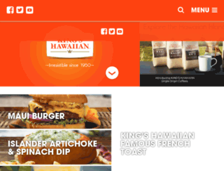 rewards.kingshawaiian.com screenshot