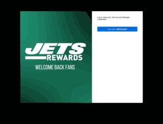 rewards.newyorkjets.com screenshot