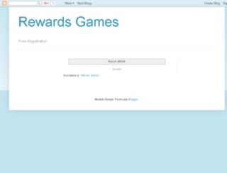 rewardsforgames.blogspot.ca screenshot