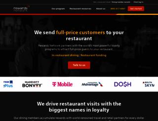 rewardsnetwork.com screenshot