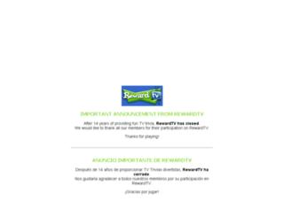 rewardtv.com screenshot
