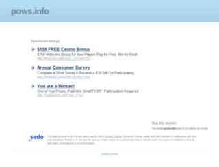 rewardzone.pows.info screenshot