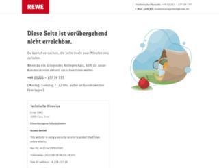 rewe-express.de screenshot