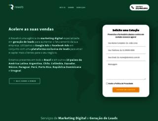 reweb.com.br screenshot