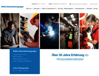 rewo-unternehmensgruppe.de screenshot