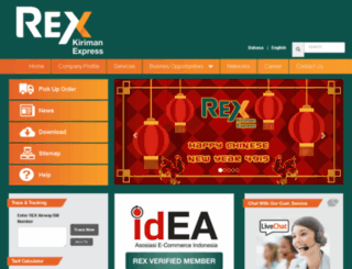 rex-indonesia.com screenshot