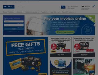 rexelenergysolutions.co.uk screenshot