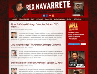 rexnavarrete.com screenshot