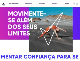 rexona.com.br screenshot