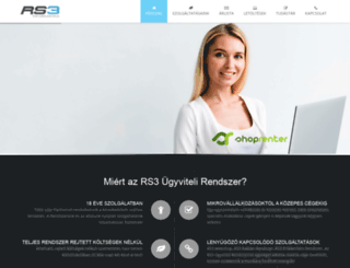rexsystem.hu screenshot