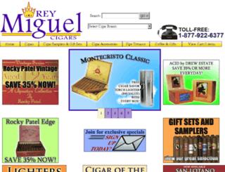 rey-miguel-cigar-company.myshopify.com screenshot