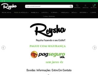 reysha.com.br screenshot