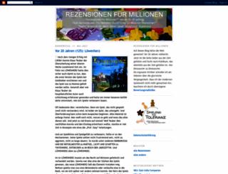 rezensionen-fuer-millionen.blogspot.com screenshot