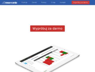 rezervante.pl screenshot