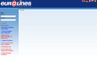 rezervari.eurolines.ro screenshot