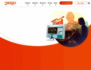 rezgo.com screenshot