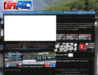 rfactor-motorsportliga.com screenshot