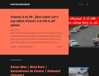 rfactoresources.blogspot.com screenshot
