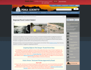 rfcd.pima.gov screenshot