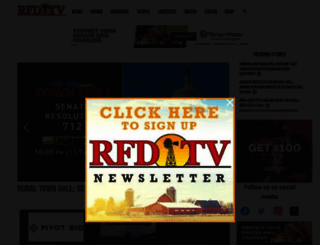 rfdtv.com screenshot