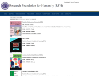 rfh.org.pk screenshot