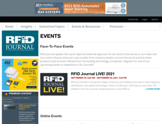 rfidjournalevents.com screenshot