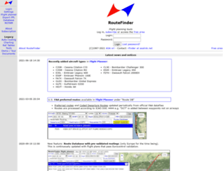 rfinder.asalink.net screenshot