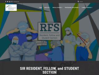 rfs.sirweb.org screenshot