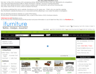 rfurniture.co.nz screenshot