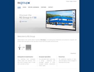 rg-group.ch screenshot