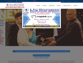 rgibhopal.com screenshot