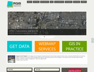 rgis.unm.edu screenshot