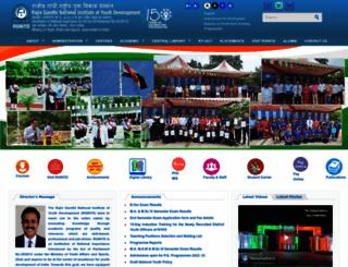 rgniyd.gov.in screenshot