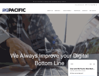 rgpacific.com screenshot
