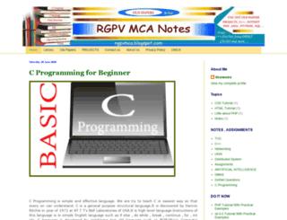 rgpvmca.blogspot.in screenshot