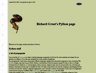 rgruet.free.fr screenshot