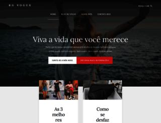 rgvogue.com.br screenshot