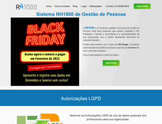 rh1000.com.br screenshot