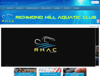 rhac.ca screenshot