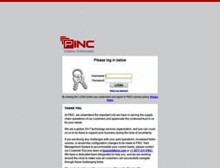 rhc-sfdc.pincsolutions.com screenshot