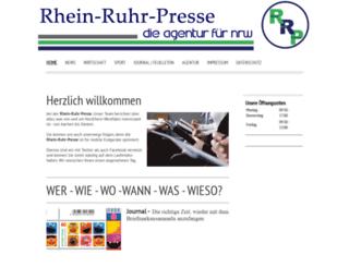 rhein-ruhr-presse.de screenshot