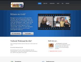 rheingoldregio.de screenshot