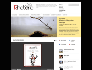 rhetoricmagazine.com screenshot