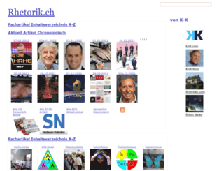 rhetorik.ch screenshot