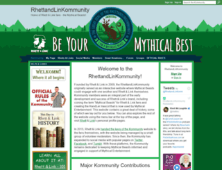 rhettandlinkommunity.com screenshot