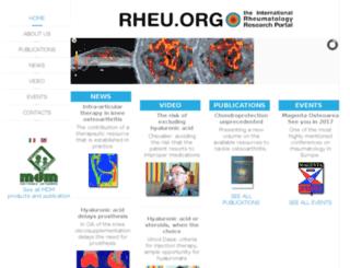 rheu.org screenshot